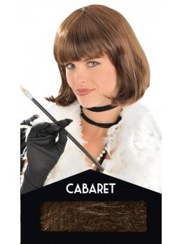 perruque cabaret chatain