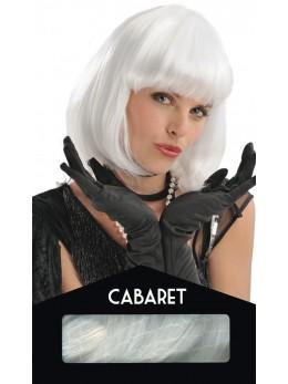 perruque cabaret blanche