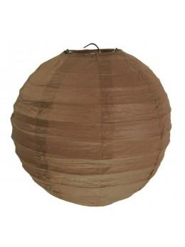 Lampion ballon chocolat 35 cm