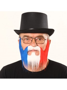 Barbe luxe tricolore
