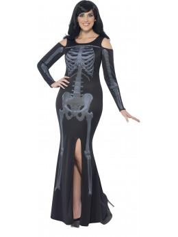 déguisement femme squelette