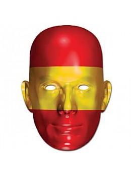 Masque carton supporter Espagne