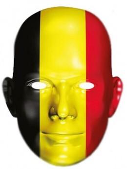 Masque carton supporter Belgique