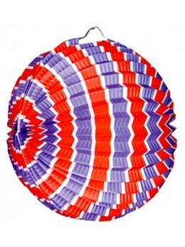 Lampion ballon tricolore