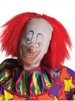 cagoule clown avec cheveux