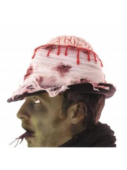 Chapeau effet cervelle trépanée