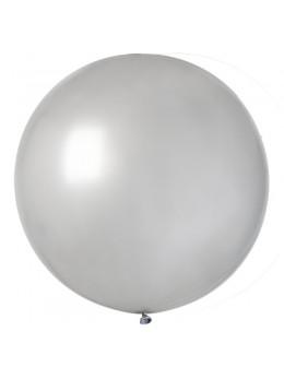 ballon géant argent