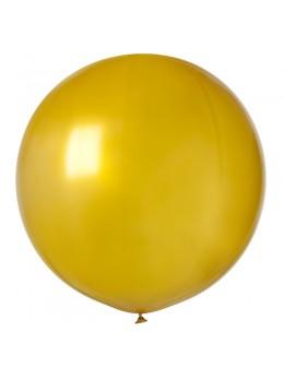 ballon géant or