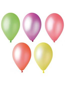 100 ballons fluo