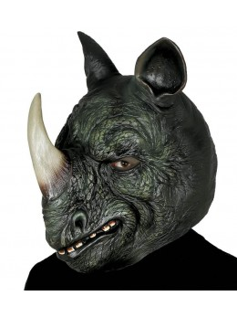 masque latex de rhinocéros