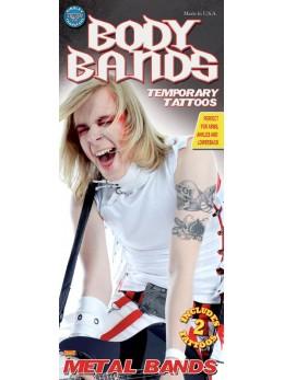 tatouage de bras rockeur