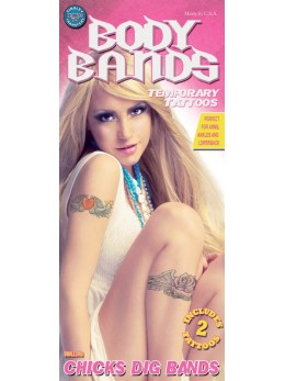 tatouage motif pop rock