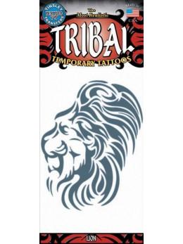 tatouage temporaire Lion