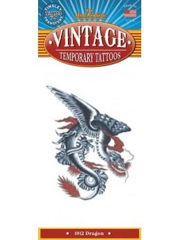tatouage temporaire motif dragon