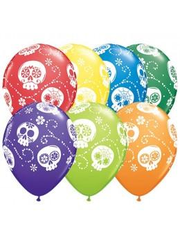 "10 ballons  deluxe ""sugar skull"""