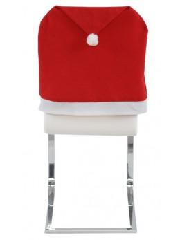 2 housses de chaises bonnet de Noël