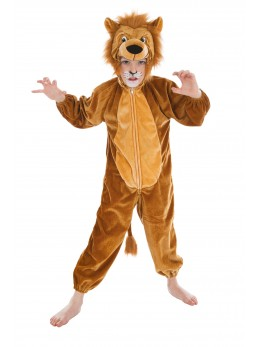 Déguisement lion de la jungle enfant
