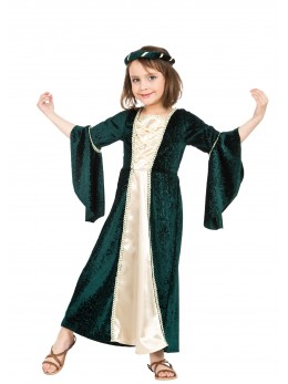 déguisement fille médiévale