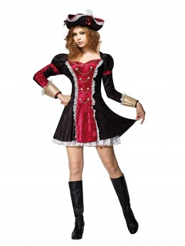 Déguisement pirate femme deluxe