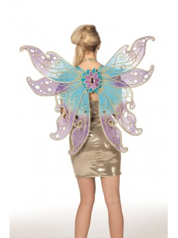 ailes de papillon paillettes