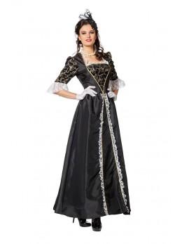 déguisement femme marquise noire