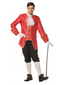 déguisement marquis homme rouge