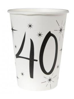 10 gobelets 40 ans