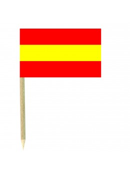 50 Mini drapeaux luxe Espagne