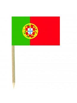 50 Mini drapeaux luxe Portugal