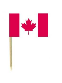 50 Mini drapeaux luxe Canada