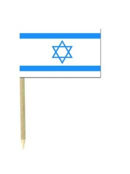50 Mini drapeaux luxe Israël