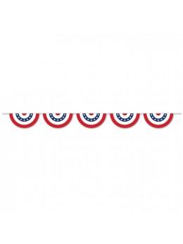 Guirlande patriote tricolore