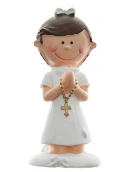 Figurine communiante fille