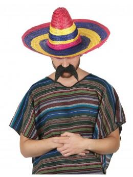 sombrero mexicain bariolé