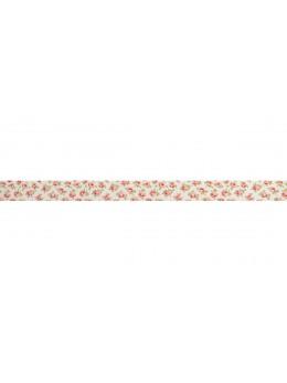 Ruban shabby rose ivoire 3cm