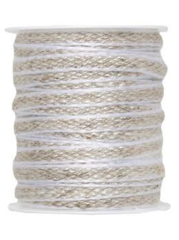 Cordon lisière blanc