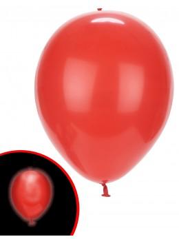 ballons rouge avec led