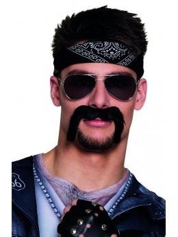 Moustache Biker