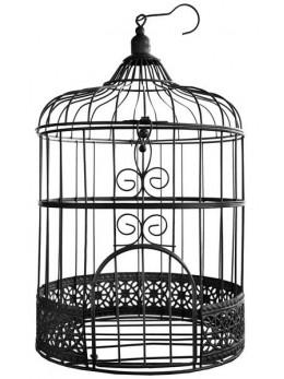 Tirelire cage noire 31cm