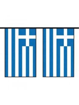 Guirlande pavillon Grèce 10m