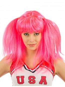 Perruque Cheerleader rose