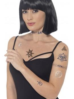 Planche de tatouages antique et  tribal