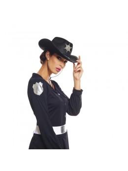 chapeau cowboy noir
