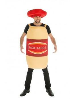 Déguisement moutarde avec chapeau