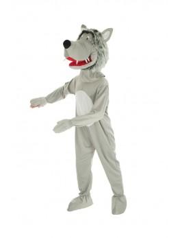 Mascotte loup adulte