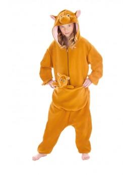 Déguisement kigurumi kangourou enfant