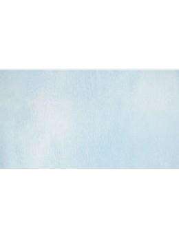 Chemin de table laser bleu polaire