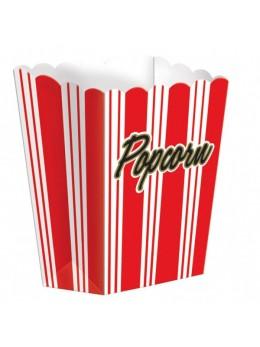 8 boîtes popcorn hollywood