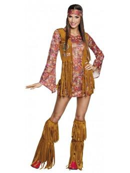 déguisement hippie pour femme