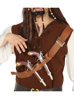 Ceinturon deux pistolets pirate